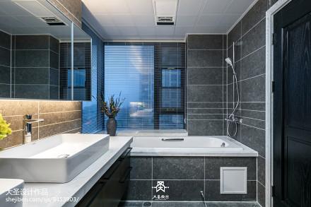 精致119平北欧三居卫生间效果图片大全卫生间