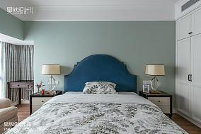 热门面积112平美式四居卧室装饰图片欣赏