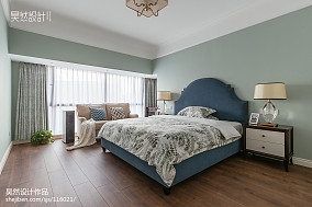 精美142平方四居卧室美式装修欣赏图