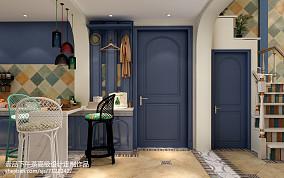 朴质50平米2室1厅效果图