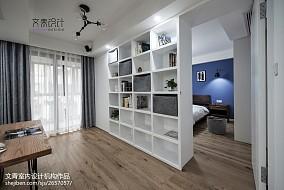 170方复式书房设计图复式北欧极简家装装修案例效果图