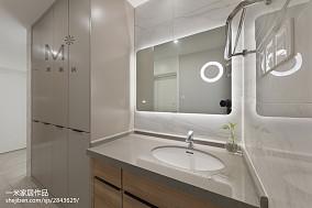 2018精选面积77平现代二居装修设计效果图片大全