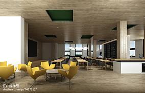 豪华欧式挑高客厅设计