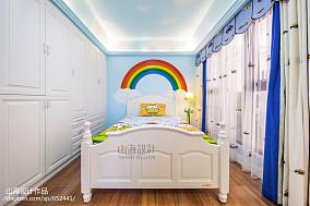 面积114平别墅儿童房装修效果图片