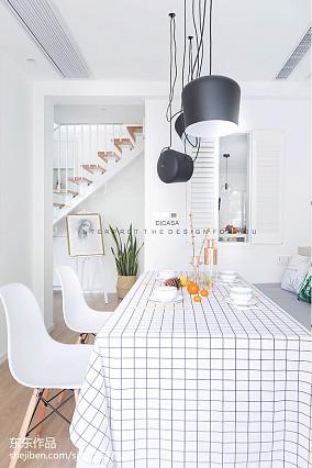 热门面积78平欧式二居餐厅装修设计效果图