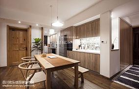 2018日式三居餐厅装修欣赏图片厨房1图日式设计图片赏析