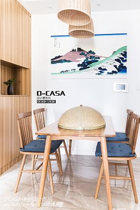热门二居餐厅日式装修图厨房日式设计图片赏析