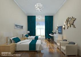 精美75平米简约小户型卧室装修设计效果图片欣赏