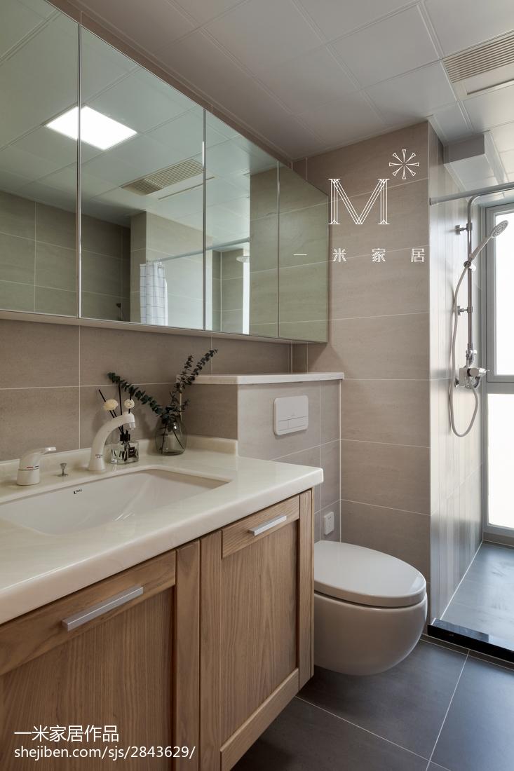 平日式二居卫生间装修案例卫生间日式卫生间设计图片赏析