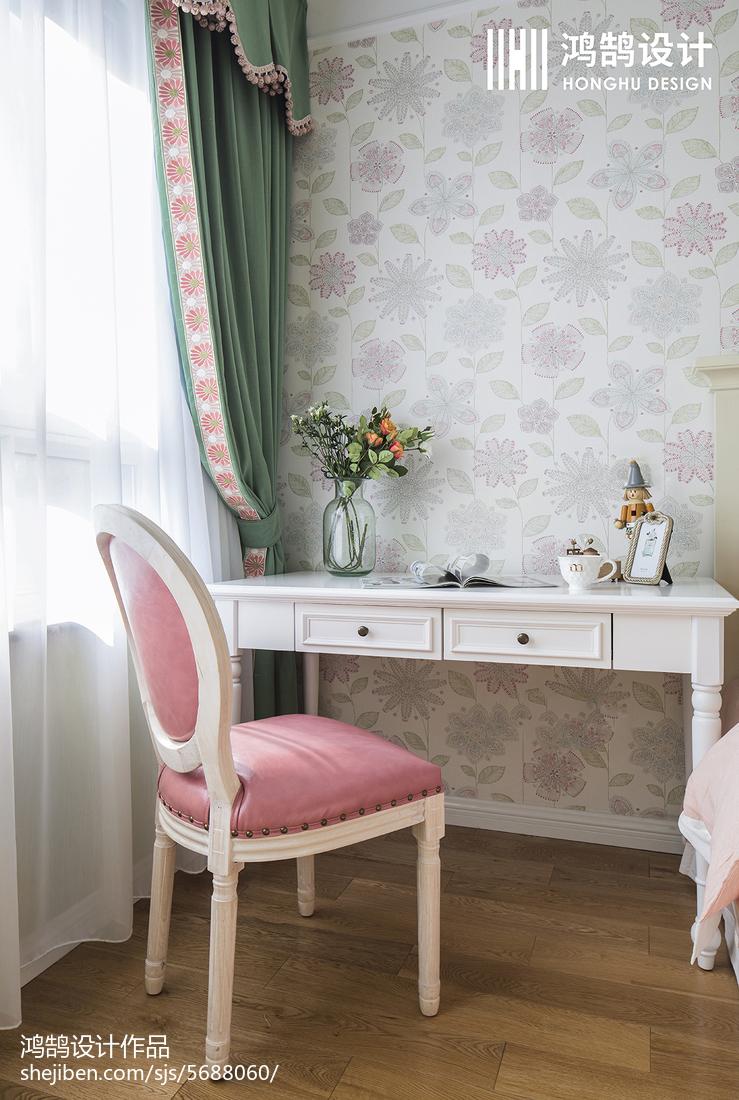 精美美式三居儿童房效果图卧室美式经典卧室设计图片赏析