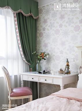 面积99平美式三居儿童房装修设计效果图片卧室美式经典卧室设计图片赏析