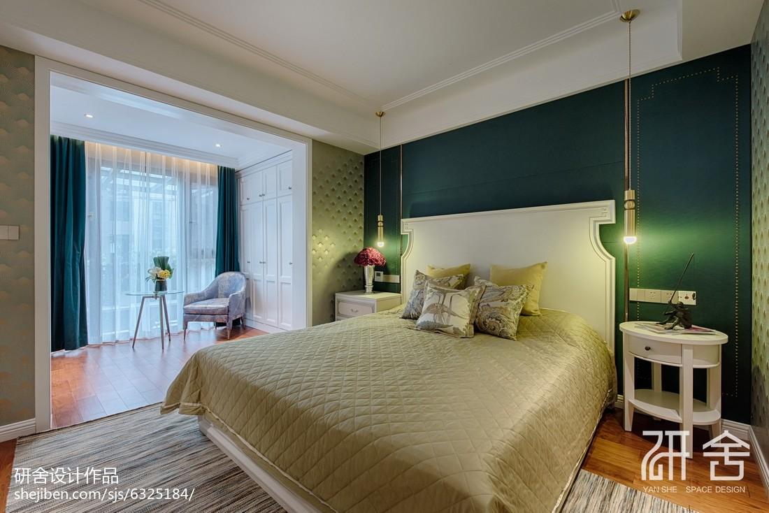 轻奢摩登风主卧设计图卧室现代简约卧室设计图片赏析