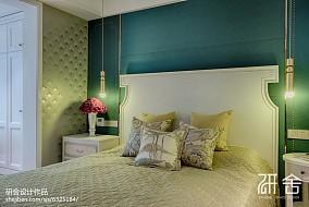 精选面积139平现代四居卧室装修实景图片