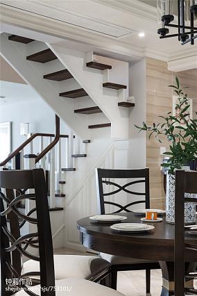 典雅947平新古典别墅餐厅装修设计图
