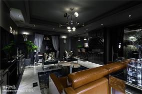 热门135平方四居客厅混搭装修图片大全