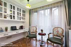 轻奢138平美式四居装修设计图四居及以上美式经典家装装修案例效果图