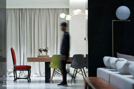 2018大小117平别墅客厅现代装修欣赏图片