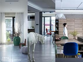 精选130平米现代别墅餐厅装饰图片欣赏别墅豪宅现代简约家装装修案例效果图