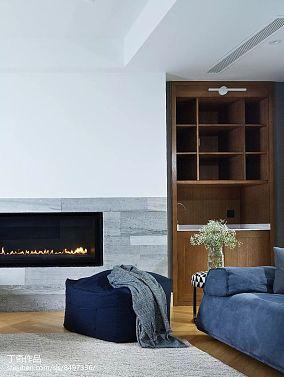 热门面积133平别墅客厅现代装修设计效果图片大全别墅豪宅现代简约家装装修案例效果图