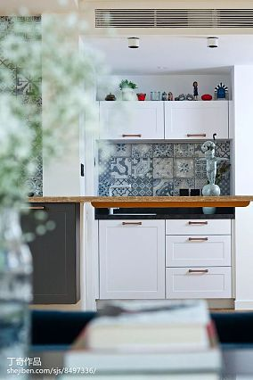 精美面积120平别墅厨房现代装修设计效果图片大全别墅豪宅现代简约家装装修案例效果图