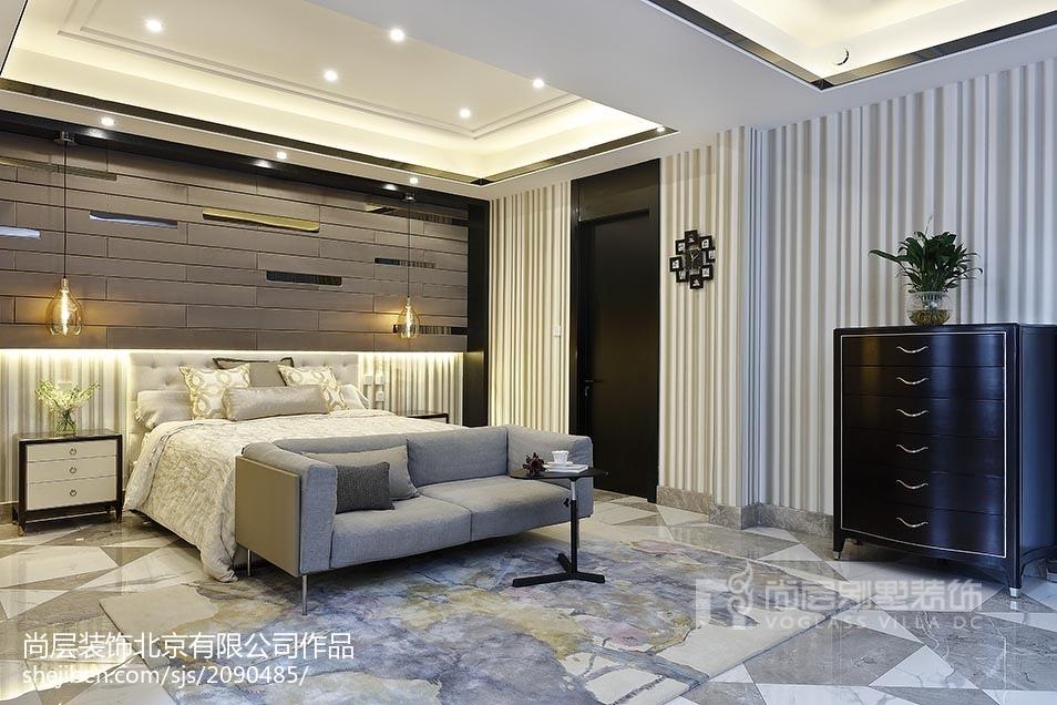 精选面积120平别墅卧室美式装饰图片卧室沙发美式经典卧室设计图片赏析
