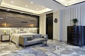 精選面積120平別墅臥室美式裝飾圖片臥室