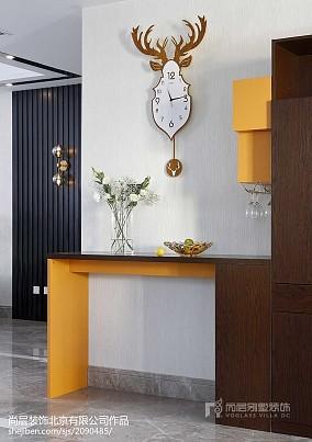 精选面积123平别墅餐厅美式装修欣赏图片别墅豪宅美式经典家装装修案例效果图