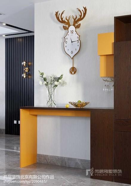 精选面积123平别墅餐厅美式装修欣赏图片