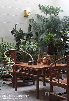 精美别墅花园美式装修效果图片别墅豪宅美式经典家装装修案例效果图