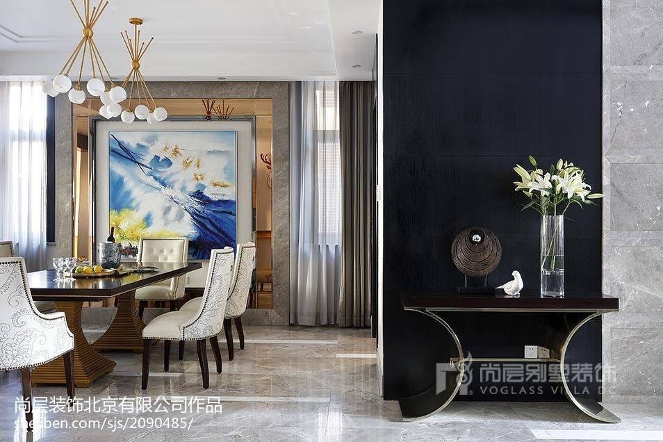 精美别墅玄关美式装修实景图片欣赏美式经典设计图片赏析