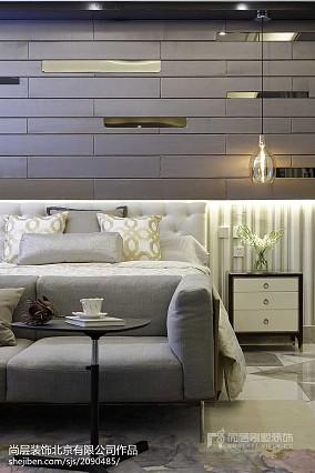 热门121平米美式别墅卧室装饰图片欣赏别墅豪宅美式经典家装装修案例效果图