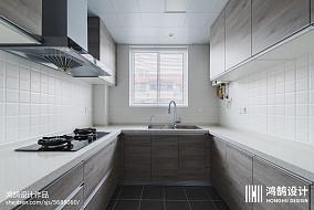 2018面积87平现代二居厨房欣赏图片大全二居现代简约家装装修案例效果图
