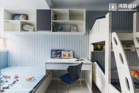 90平现代儿童房设计图二居现代简约家装装修案例效果图