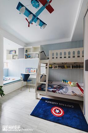 90平现代儿童房设计图片二居现代简约家装装修案例效果图