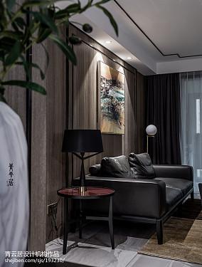 精美复式客厅现代装修实景图片大全
