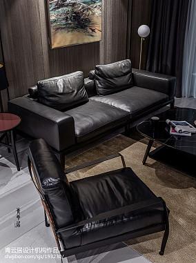 精选面积121平复式客厅现代装修图片大全