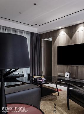 2018面积122平复式客厅现代欣赏图