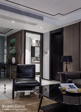 热门128平米现代复式客厅效果图片欣赏