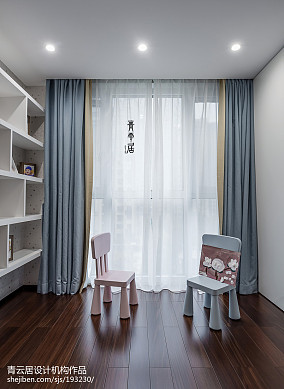 精美面积121平复式儿童房现代装修设计效果图片