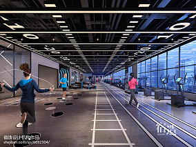 SUZAO|CSPORT健身房绿地中心店1000m²以上其他家装装修案例效果图