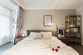 质朴35平现代小户型卧室图片欣赏