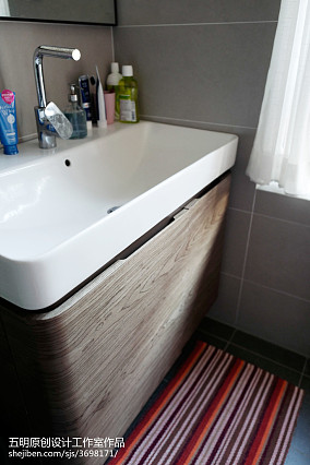 精美138平米混搭别墅卫生间装修实景图片大全