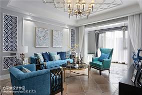 优雅121平美式三居装修图片三居美式经典家装装修案例效果图
