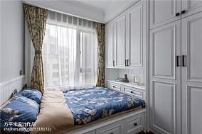 明亮125平美式三居儿童房设计美图三居美式经典家装装修案例效果图