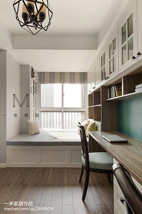 典雅78平美式二居实拍图二居美式经典家装装修案例效果图