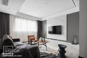 精美129平现代三居客厅装修案例