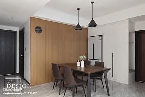 温馨119平现代三居餐厅设计美图