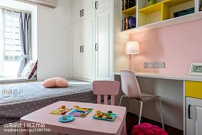 热门面积98平简约三居儿童房设计效果图