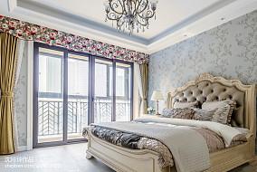 热门137平米四居卧室东南亚实景图片