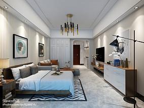 201884平米混搭小户型客厅装修效果图片